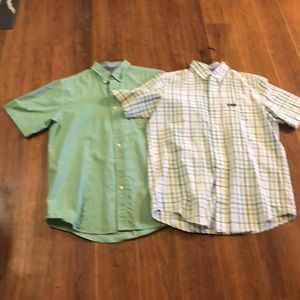 Lot of 2 chaps easy care shirts